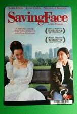 SAVING FACE JOAN LYNN CHEN KRUSHIEC ART MINI POSTER BACKER CARD (NOT a movie)