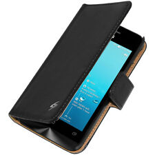 Amzer Magnetic Flip Stand Case Cover Card Holder For ASUS Zenfone 4 A400CG