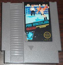 Nintendo NES. Pro Wrestling (NTSC USA)