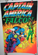 CAPTAIN AMERICA and THE FALCON THIRD EYE MARVEL BLACKLIGHT POSTER