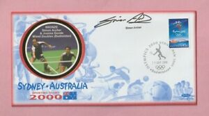 Australia - Sydney, 2000 Olympic Games Autographed Stamp cover, Simon Archer