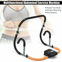 Ab Fitness Crunch Abdominal Exercise Workout Machine Glider Roller Free Shipping