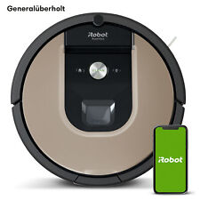 iRobot Roomba 966 Saugroboter, generalüberholt, Lädt auf und saugt weiter, WLAN