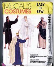 McCalls 7280 BIBLE Costume Men Women Pattern Vintage 1994 Uncut EXTRA LARGE Easy