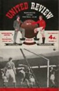 1956/7  Manchester United v Blackpool