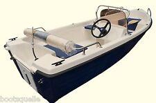 Motorboot Angelboot Freizeitboot,Konsolenboot 4,00m  (ILKA mit Steuerstand)