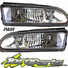 HEADLIGHTS PAIR SUIT VR VS COMMODORE HOLDEN ALTEZZA HEADLAMPS HEAD LIGHTS LAMPS