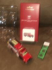 Hallmark 2020 Fire Brigade 1996 Ford F-800 Fire Engine # 18 In Series Ornament