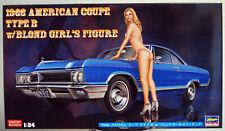 1966 Buick Wildcat Type B mit Figur 1:24 Hasegawa 52213 wieder neu 2019