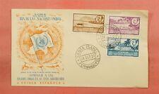 1951 SPANISH WEST AFRICA FDC UN 6TH ANNIVERSARY NICE CACHET