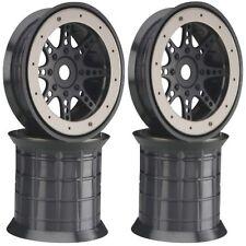 Axial AX8042 40 Series 8-Spoke Oversize Beadlock Wheels (4) Savage T-Maxx Revo