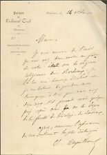 BORDEAUX PARQUET TRIBUNAL CIVIL COURRIER PAR ?? 1861