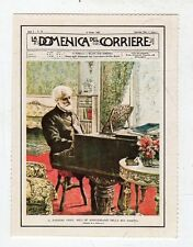 figurina - LE COPERTINE DELLA DOMENICA DEL CORRIERE - MUSICA 1