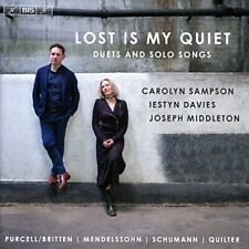 Carolyn Sampson - Lost is my Quiet [Carolyn Sampson; Iestyn Davies; [CD]