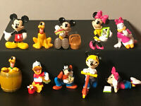 Fremdfiguren Mickey and Friends  Komplet Set  mit 1 Bpz. RK, Rübezahl