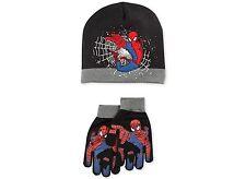 New Siderman Boys' or Little Boys' Hat & Gloves Set