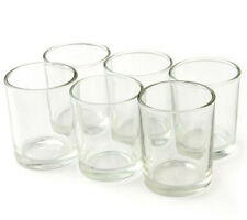 72pc Clear Glass Votive Candle Holders Wedding Decor Party Event  Clear Tealight