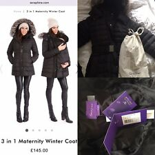 Maternity & Baby Wearing Winter Séraphine Coat
