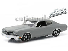 Greenlight Fast & Furious Dom's 1970 Chevrolet Chevelle SS 1:43 Grey 86227