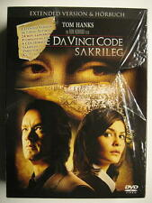 THE DA VINCI CODE - SAKRILEG - 2 DVD + 6 CD HÖRBUCH IN BOX