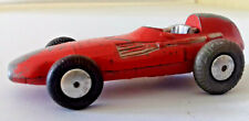 Corgi Toys 150 Vanwall Racing Car Red Silver Seat No Driver Playworn Unboxed