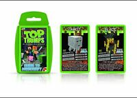 The Independent And Unofficial Guide To Minecraft Top Trumps Card Game