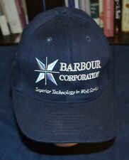 BARBOUR Well/ OIL DRILLING CORPORATION   HAT