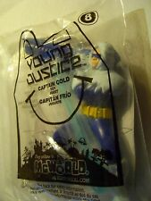 McDonalds CAPTAIN COLD of YOUNG JUSTICE (8) Series MIB with Frost Rocket