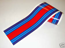 LE MANS MARTINI style stripe 2 meters gloss laminated decal sticker