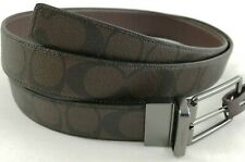 New Coach F64825 Men Modern Harness Cut-To-Size Reversible Belt - Brown