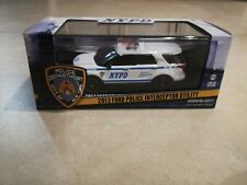 1:43 Greenlight 2013 Ford Police Interceptor Utility NYPD Diecast Car Model
