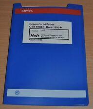 VW Golf Bora ab 1998 Einspritz Zündanlage Werkstatthandbuch Reparaturleitfaden
