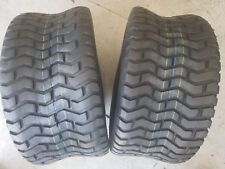 2 - 24/12.00-12 4 Ply Deestone D265 Turf Saver Lawn Mower Tires PAIR 24/12-12