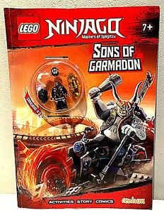 Lego Ninjago Magazine Sons of Garmadon inc figure