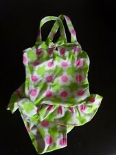 *Green & Pink Flower Swimming Costume*Age 12-18 Months*
