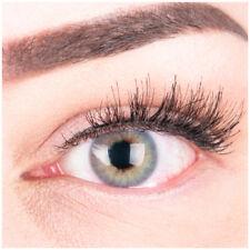 Farbige Silikon Kontaktlinsen Mit und Ohne Stärke weich Grün natürlich deckend
