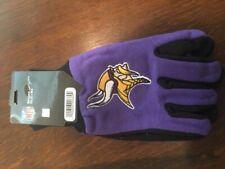 Minnesota Vikings Gloves Utility Work Sports NFL Winter No Slip Football Team
