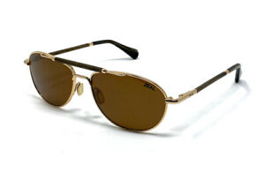 ZEAL BARSTOW Aviator Polarized Sunglasses, Bronze Lenses, Made in Japan, NEW