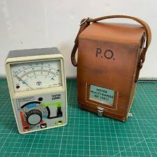 Vintage Telephone Line Tester SA9083 British Telecom BT in Leather PO Case