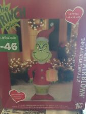 5.5  FT TALL GRINCH CHRISTMAS INFLATABLE