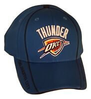 Adidas Oklahoma City Thunder Hat NBA Structured Adjustable Cap