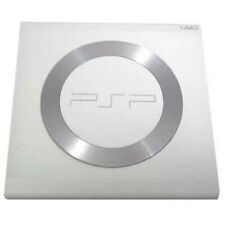 PSP 1000 WHITE UMD Door Cover w/ Steel Ring Replacement New (1001 Part Parts)