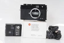 Leica M9-P 18MP Digital Rangefinder Camera Body Black Paint                 #606