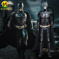 Batman Cosplay Costume The Dark Knight Rises Bruce Wayne Outfit Full Set For Men