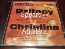 JUST TRACKS KARAOKE DISC JTG075 BRITNEY SPEARS CHRISTINA AGUILERA CD16 TRACKS