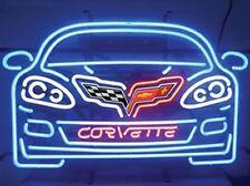 C6 Corvette 2005-2013 Car Neon Sign With Logo & Script
