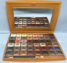SAFFRON 48 COLOUR NUDE EYE SHADOW SHADE PALETTE TRAY KIT WITH BRUSH GIFT PACK
