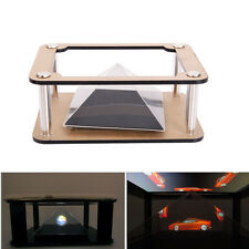 Universal DIY Smartphone into 3D Holographic Hologram Display Stand Projector
