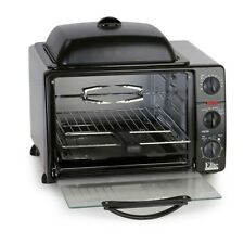 MaxiMatic Ero-2008S Elite Cuisine Toaster Oven Broiler with Rotisserie, Grill.