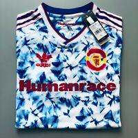 Manchester United x Adidas Human Race Pharrell Williams Snowflake Shirt BNWT